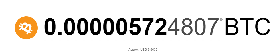 0.00000572 BTC after 2 days of using this method
